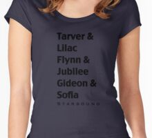 Starbound Couples Women's Fitted Scoop T-Shirt