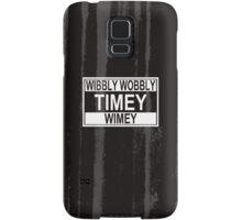 Timey Wimey Samsung Galaxy Case/Skin