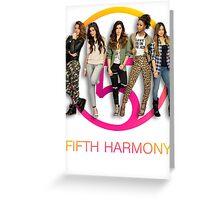 Fifth Harmony Greeting Card