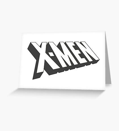X-Men Logo Greeting Card