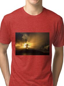Magnificent Sky - Nature Photography Tri-blend T-Shirt