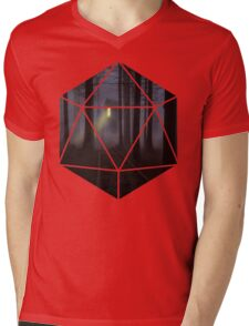 D20 - Cabin in the woods Mens V-Neck T-Shirt