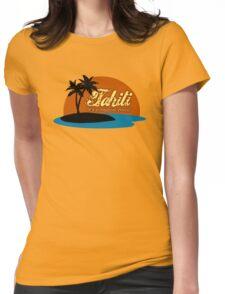 Tahiti Womens Fitted T-Shirt