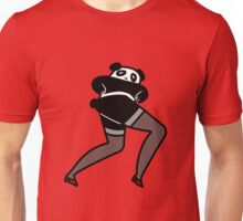 Long Lady Legs Panda Unisex T-Shirt