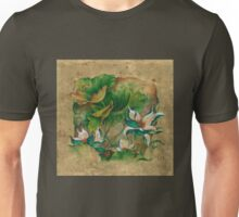 """Talks About the Essence of Life"" from the series ""In the Lotus Land"" Unisex T-Shirt"