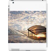 Cloudy Sky - Mirror Image iPad Case/Skin