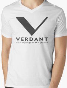 Verdant Mens V-Neck T-Shirt