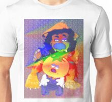 Caught in a double spotlight Unisex T-Shirt