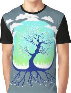 Venus Cherry Blossom Graphic T-Shirt