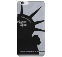 Planet of the Apes iPhone Case/Skin
