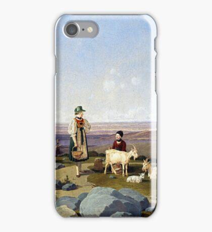 Wilhelm von Kobell On Gaisalm iPhone Case/Skin