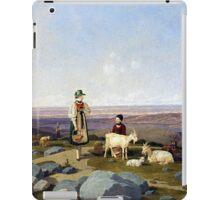 Wilhelm von Kobell On Gaisalm iPad Case/Skin