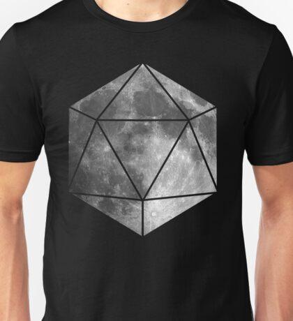 D20 - Moon Unisex T-Shirt