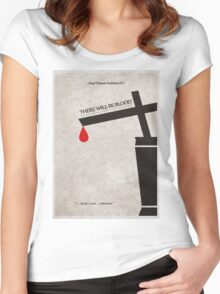 There Will Be Blood Women's Fitted Scoop T-Shirt