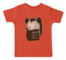 Hedgehog Book Don't Hurt The Ones You Love Kids Tee