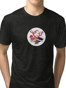 CKOM: Creative, Knowledgeable, Open Minded No. 1 Tri-blend T-Shirt