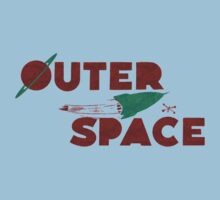 Wilde & Sweet - Outer Space Kids Tee