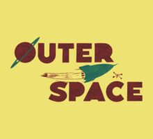 Wilde & Sweet - Outer Space Baby Tee
