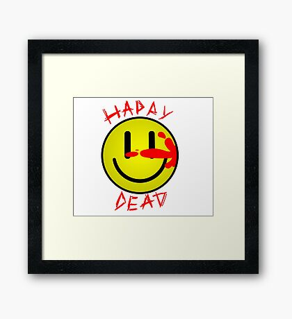 HAPPY DEAD COMEDIANT Framed Print