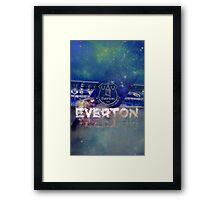 Everton graphic Framed Print