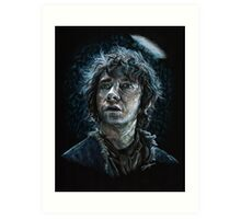 Bilbo Baggins Art Print