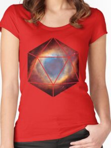 D20 - Nebula Women's Fitted Scoop T-Shirt