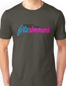 Fitz Simmons (black) Unisex T-Shirt