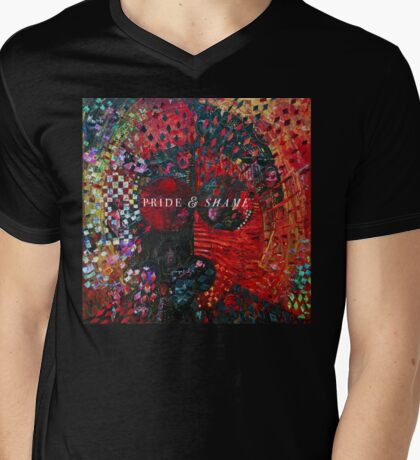 Pride & Shame Album cover artwork Mens V-Neck T-Shirt