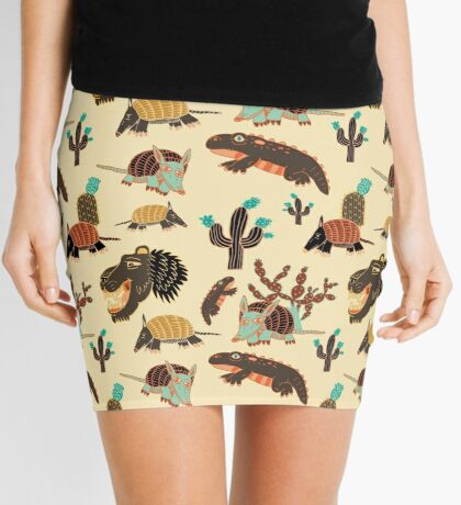 Desert Creatures Mini Skirt