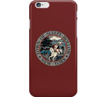 Town of Sleepy Hollow iPhone Case/Skin