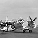 RAFHAF Spitfire F.XVIe TE476 by Colin Smedley