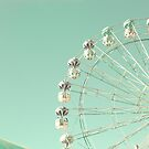 Carnival on Mint Sky by Caroline Mint