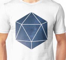 D20 - Blue Space Unisex T-Shirt