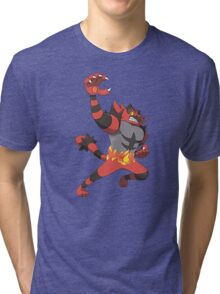 Pokemon Incineroar Tri-blend T-Shirt