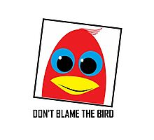 DON'T BLAME THE BIRD Photographic Print