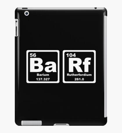 Barf - Periodic Table iPad Case/Skin