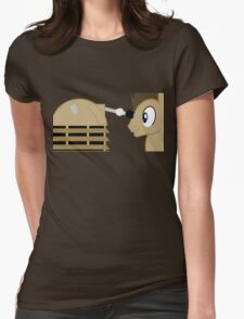 Dr Whooves Womens Fitted T-Shirt