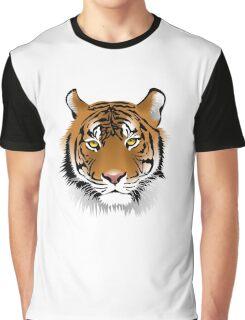 Hypnotic Bengal Tiger Graphic T-Shirt