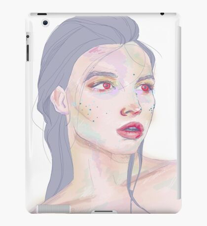 Red Moon Elf iPad Case/Skin