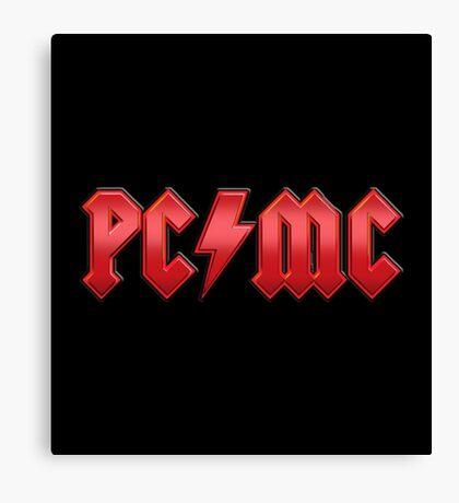 PC/MC Canvas Print