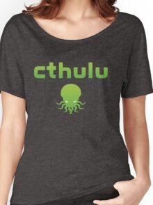 Cthulhu...err, Cthulu Waits Streaming Women's Relaxed Fit T-Shirt