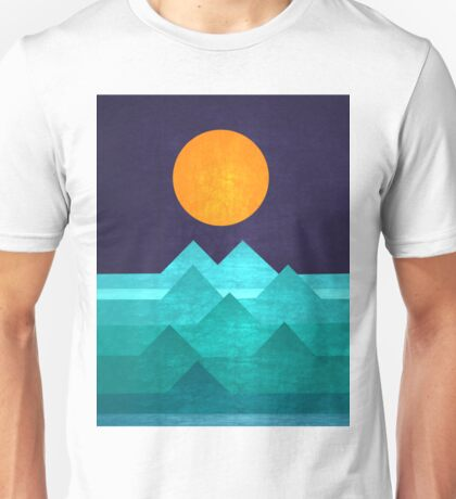 Triangle Hills Unisex T-Shirt
