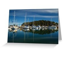 A Calm Day In Winchester Bay Greeting Card