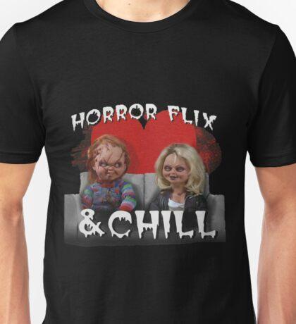 Horror Flix & Chill Unisex T-Shirt