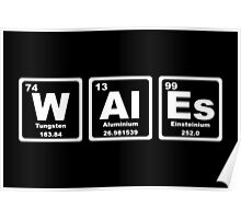 Wales - Periodic Table Poster