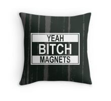 Magnets Throw Pillow