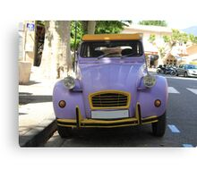 Vintage French car by ProvenceProvence Canvas Print