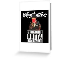 Westside Slasher Greeting Card