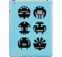 BLUE ROBOTS iPad Case/Skin