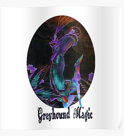 Greyhound Magic Poster